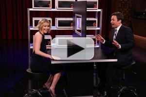 VIDEO: Jimmy Fallon & Jennifer Lawrence Play 'Box of Lies' on TONIGHT