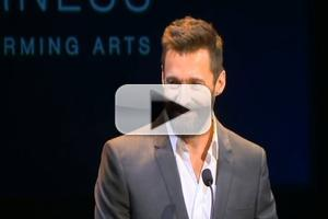 STAGE TUBE: Tony Winner Hugh Jackman Speaks at WAAPA to Raise Funds for New Charity