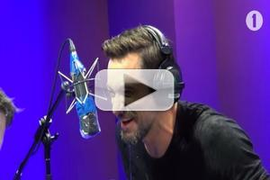 VIDEO: Hugh Jackman Spit-Takes Playing 'Innuendo Bingo' on BBC Radio 1