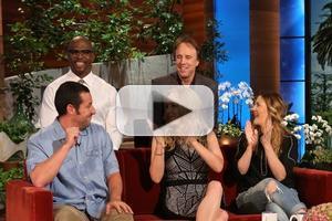 VIDEO: Sandler, Barrymore & Cast of 'Blended' Visit Today's ELLEN