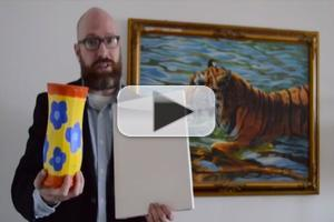 STAGE TUBE: Smash a Vase or Paint a Flower in Support of Bad Theater Fest
