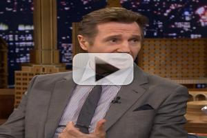 VIDEO: Liam Neeson Talks New Film 'Million Ways to Die' on FALLON