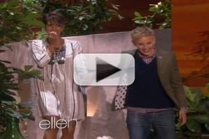 VIDEO: Halle Berry Faces Her Fears on Today's ELLEN