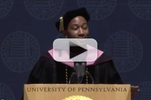 VIDEO: John Legend Speaks & Sings at U Penn Commencement Ceremony