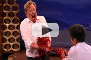 VIDEO: Sneak Peek - CONAN Takes a Samurai Sword to the Gut