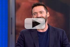 VIDEO: Hugh Jackman Talks Tony Prep & More on GMA