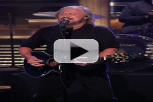 VIDEO: Barry Gibb Performs 'Jive Talkin' on JIMMY FALLON