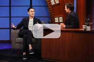 VIDEO: CABARET's Alan Cumming Talks Wearing a Swastika on His Bum on LATE NIGHT
