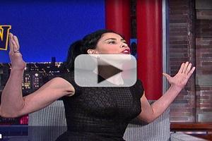 VIDEO: Sarah Silverman Reveals She's the 'Wrong' Kind of Offensive on LETTERMAN