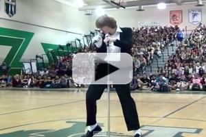 VIDEO: Teen's Michael Jackson Talent Show Performance Goes Viral!