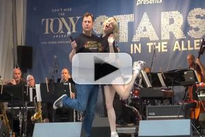 BWW TV: BULLETS OVER BROADWAY's Helene Yorke & Brooks Ashmanskas Misbehave at STARS IN THE ALLEY!