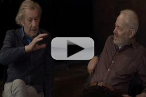 STAGE TUBE: Ian McKellen and Michael Pennington Talk TFANA's KING LEAR, Shakespeare and More