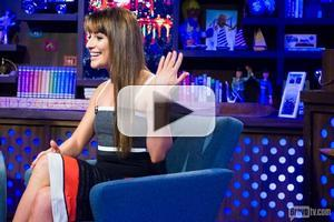 VIDEO: Lea Michele Predicts How GLEE Will End & More on WATCH WHAT HAPPENS