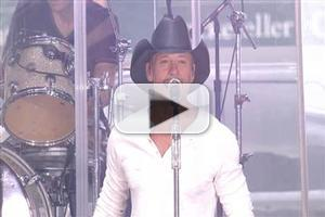 VIDEO: Tim McGraw Performs 'Something Like That' on TODAY