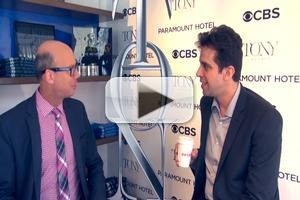 BWW TV Exclusive: Celebrating the 2014 Tony Nominees- Spotlight on BULLETS OVER BROADWAY's Nick Cordero