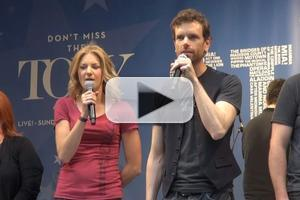 BWW TV: Nolan, Christie and ONCE Cast Sing at STARS IN THE ALLEY!
