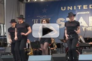 BWW TV: Bianca Marroquin and CHICAGO Cast Bring Fosse to STARS IN THE ALLEY!