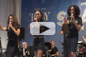 BWW TV: Cast of MOTOWN Belts Out Classics at STARS IN THE ALLEY