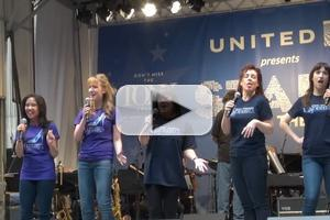 BWW TV: Ann Harada and CINDERELLA Cast Sing at STARS IN THE ALLEY