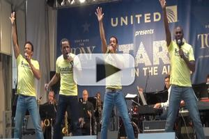BWW TV: BEAUTIFUL Cast Channels The Drifters at STARS IN THE ALLEY!