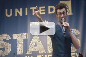 BWW TV: Tony Nominee Bryce Pinkham Sings 'Foolish to Think' at STARS IN THE ALLEY