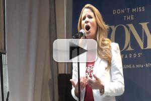 BWW TV: Tony Nominee Kelli O'Hara Sings 'To Build a Home' at STARS IN THE ALLEY!