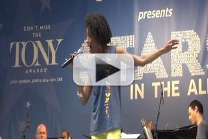 BWW TV: Tony Nominee Adriane Lenox Sings 'Women Be Wise' at STARS IN THE ALLEY!