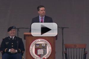 VIDEO: Ed Helms of NBC's THE OFFICE Delivers Cornell's 2014 Commencement Speech