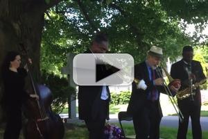 STAGE TUBE: AFTER MIDNIGHT Visits Duke Ellington's Grave in Honor of the 40th Anniversary of His Death
