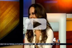 STAGE TUBE: LOS MONOLOGOS DE LA VAGINA's Kate del Castillo Appears on WNBC TV's VISIONES