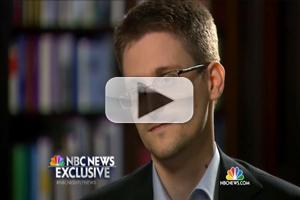 VIDEO: Sneak Peek at NBC News' Edward Snowden Interview, Airing Tomorrow