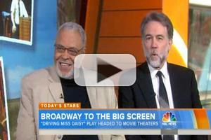 VIDEO: James Earl Jones, Boyd Gaines Talk DRIVING MISS DAISY Coming to Movie Theaters