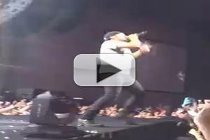 VIDEO: Country Music Star Luke Bryan Falls Off Stage During Concert
