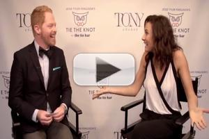 STAGE TUBE: Jesse Tyler Ferguson Talks Tonys and Tie the Knot with the 2014 Tony Nominees... and Laura Benanti?