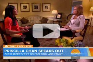 STAGE TUBE: Mark Zuckerberg's Wife, Priscilla Chan, Opens Up in First TV Interview