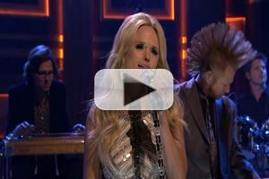 VIDEO: Miranda Lambert Performs 'Automatic' on TONIGHT SHOW