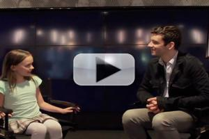 STAGE TUBE: BUYER & CELLAR's Michael Urie Sits Down with 9-Year-Old Theater Critic Ada Grey