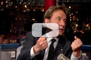 VIDEO: Martin Short Gives His Take on Kim & Kanye's Wedding on LETTERMAN