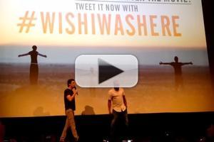 VIDEO: WISH I WAS HERE's Zach Braff & Donald Faison Perform 'Guy Love' at Film Screening