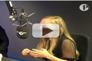 VIDEO: Amanda Seyfried Raps to One Up 'Les Mis' Co-Star Hugh Jackman