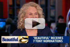 STAGE TUBE: Carole King Talks BEAUTIFUL, Tonys & More on MORNING JOE