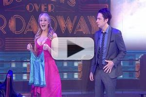 VIDEO: BULLETS OVER BROADWAY's Zach Braff & Betsy Wolfe Perform on Today!
