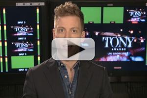 STAGE TUBE: Barrett Foa Goes Behind the Scenes of the Tony Awards!