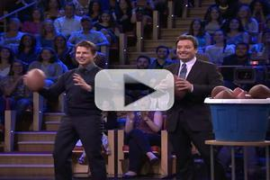 VIDEO: Tom Cruise Plays 'Face Breakers',Talks New Film on JIMMY FALLON