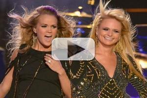 VIDEO: Carrie Underwood & Miranda Lambert Team for 'Something Bad' at CMT MUSIC AWARDS