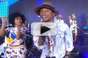 VIDEO: Pharrell Williams Performs 'Happy' & 'Come Get It Bae' on TODAY