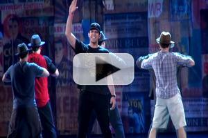 BWW TV: Gangster Tapdance! Exclusive Sneak Peek at Nick Cordero, Susan Stroman and the Cast of BULLETS OVER BROADWAY in Rehearsal for the Tonys
