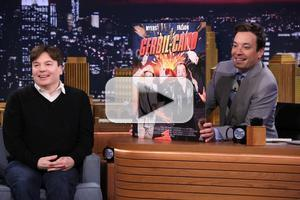 VIDEO: Mike Myers Talks Famous Catchphrases, New Film & More on FALLON