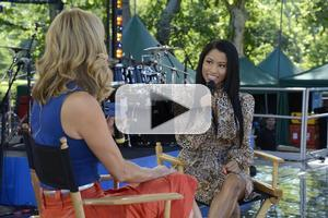 VIDEO: Nicki Minaj Gives First Look at 'Pills and Potions' Music Video on GMA