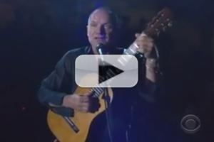 STAGE TUBE: Sting Performs Title Song from THE LAST SHIP at Tony Awards